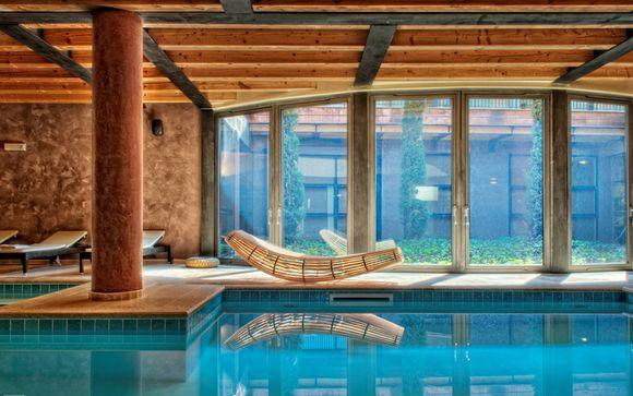 Junior Suite und Spa im Designhotel