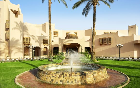 Ihe Badeaufenthalt im Continental Hotel Hurghada 5*