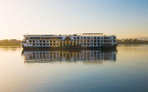 15 tägige Erlebnisreise: Nilkreuzfahrt Deluxe + Strandurlaub im Hotel Stella di Mare 5*