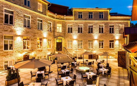 The Von Stackelberg Hotel Tallinn 4 *