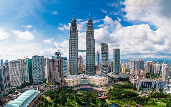 Willkommen in... Singapur, Kuala Lumpur und auf den Malediven!