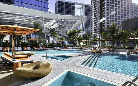 Downtown Miami zu weißen Sandstränden