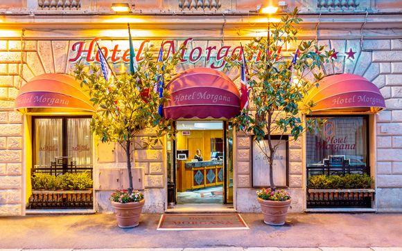 Italia Roma - Hotel Morgana 4* desde 82,00 €
