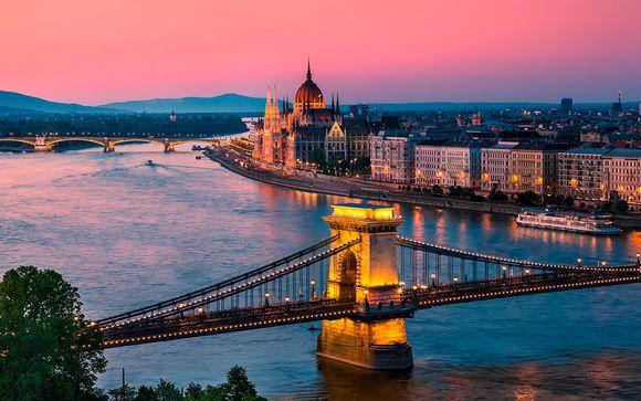 Crucero 4* por el Danubio en Diciembre