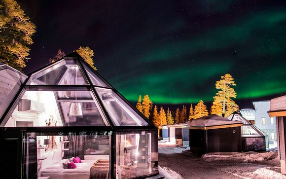 Laponia: Auroras boreales, iglú y Papá Noel