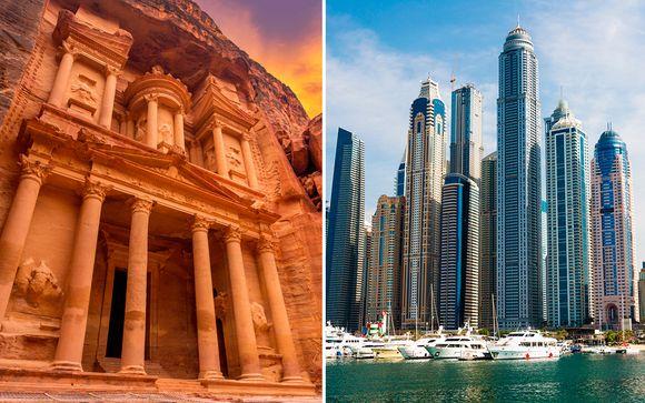 Emiratos Árabes Unidos Dubái  Jordania y Dubái con desierto desde 2.052,00 €