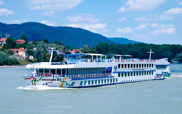 Crucero de primavera por el Danubio
