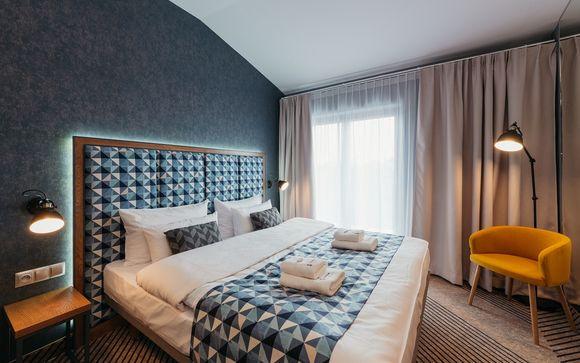 Hotel boutique con un diseño contemporáneo