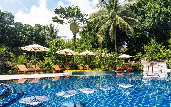 Ramada Plaza Menam Riverside 5* y Paradise Beach Resort 4*