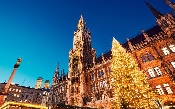 Mercadillos de Navidad de Múnich y Salzburgo