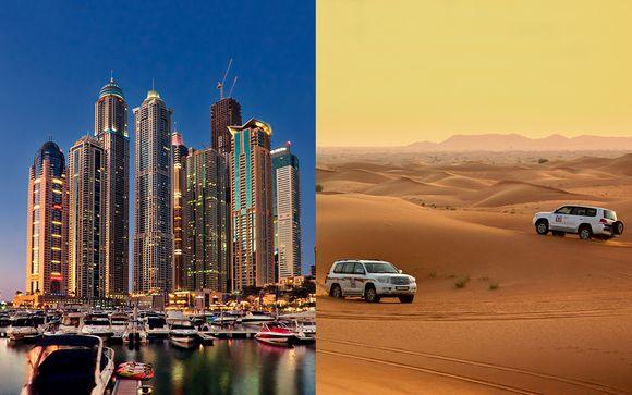 Lujo con safari por el desierto y vuelos
