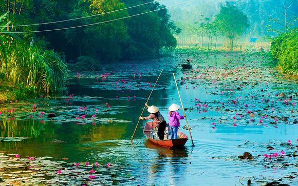 Tour privado por Vietnam y posible extensión a playa