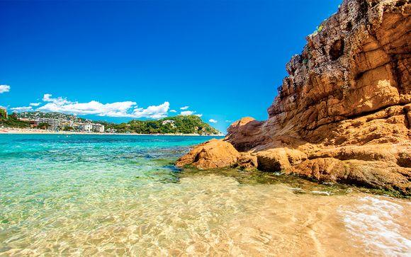 Pensión completa y spa ilimitado cerca del mar