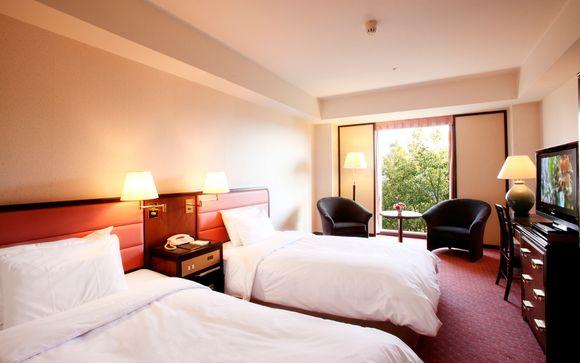 Segunda parada en Kioto en el Hotel Ana Crowne Plaza 4*