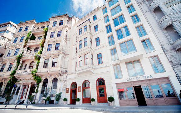Grand Hotel de Pera le abre sus puertas