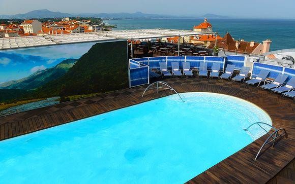 El Hotel Radisson Blu Hotel Biarritz 4* le abre sus puertas