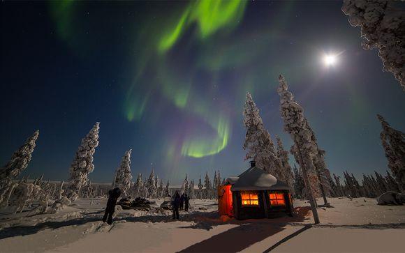 Bajo las luces de la aurora boreal