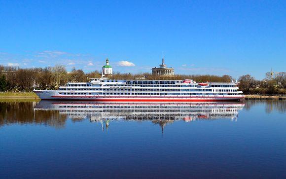 Rusia San Petersburgo Crucero por el Volga con MS Rostropovich desde 1.443,00 €