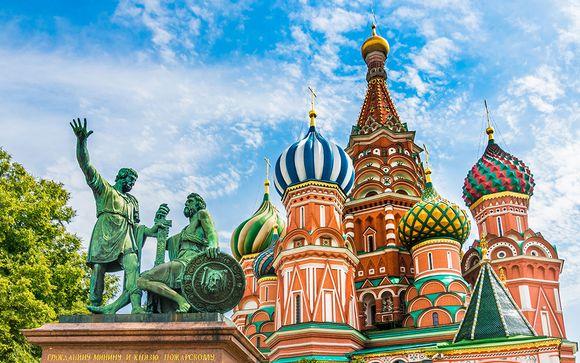 Rusia San Petersburgo - Tesoros de la Rusia Imperial en 5* desde 1.345,00 €