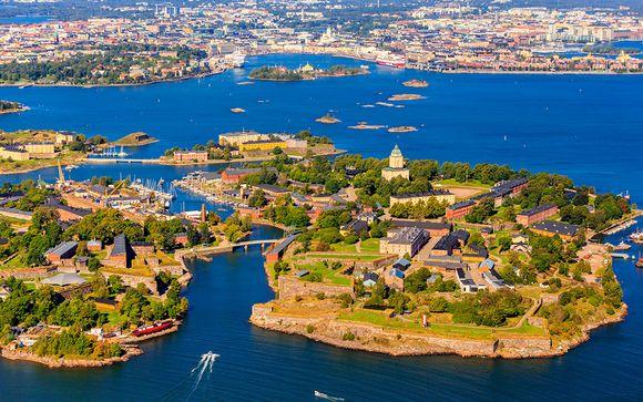Finlandia Helsinki  Las 4 Perlas del Báltico con 2 noches en Estocolmo desde 1.095,00 €