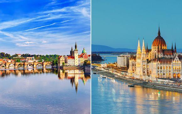 Hungría Budapest  Praga y Budapest en 4* desde 478,00 €