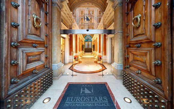 Italia Roma - Eurostars International Palace 4* desde 99,00 €