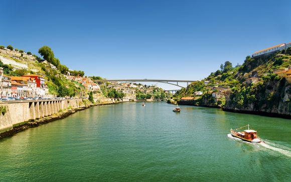 Portugal Oporto - Invicta Ribeira Boat Hotel desde 97,00 €