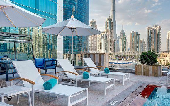 Escapada a Dubái con desierto en el Steigenberger Hotel 5*