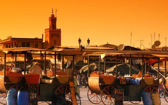 Cultura e historia muy cerca de la plaza Jamaa El Fna