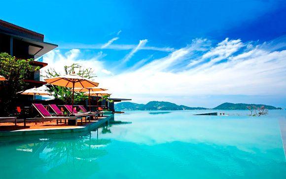 Exotismo asiático 5* en la capital y relax en la costa