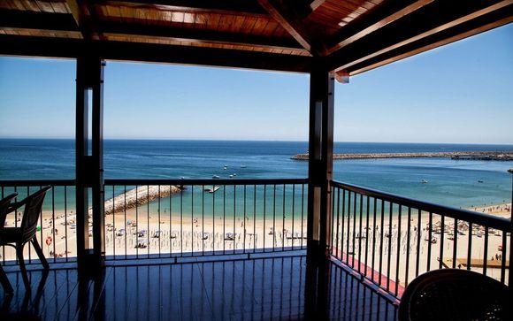 Relax y tranquilidad frente al océano en media pensión