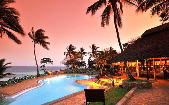 Kenia Diani Beach - Baobab Beach Resort 4* y Safari desde 1.139,00 €