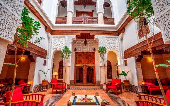 Tradición marroquí en el corazón de la medina