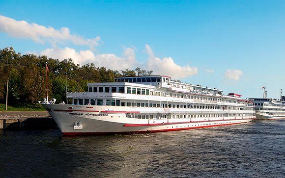 Crucero por el Volga con MS Chernishevsky