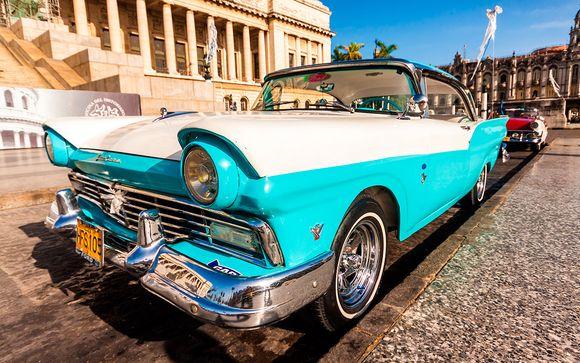 Tour en coche vintage