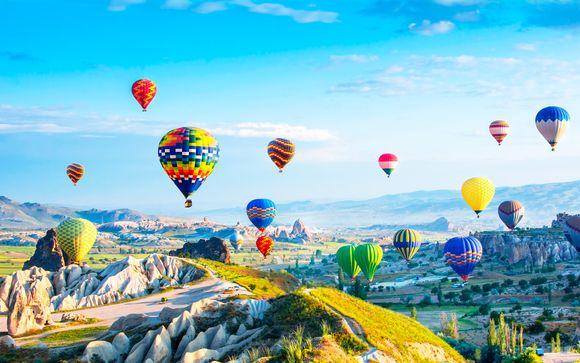 Turquía Estambul - Maravillas de Turquía con Capadocia y Troya desde 685,00 €