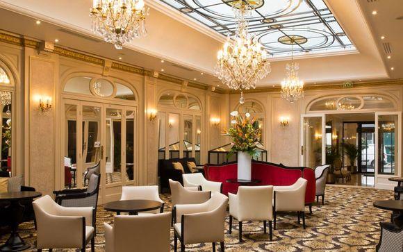 Hotel Saint-Pétersbourg Opéra