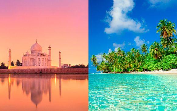 Las Perlas de la India con Maldivas