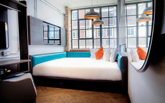 Hotel boutique de estilo urbano en Whitechapel