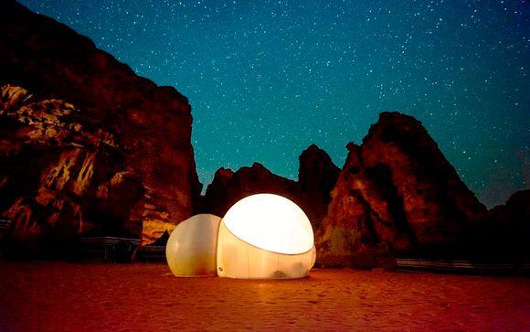 Aventuras de Wadi Rum en 5*