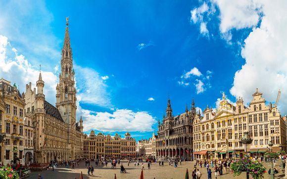 Brujas, Ámsterdam y Bruselas