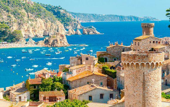 Vacaciones en el mar con pensión completa y acceso al spa