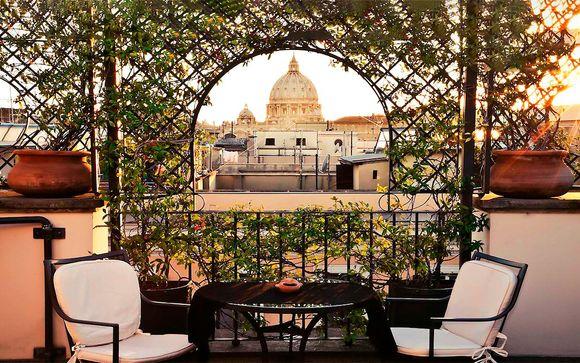 Hotel boutique próximo a la Piazza Navona