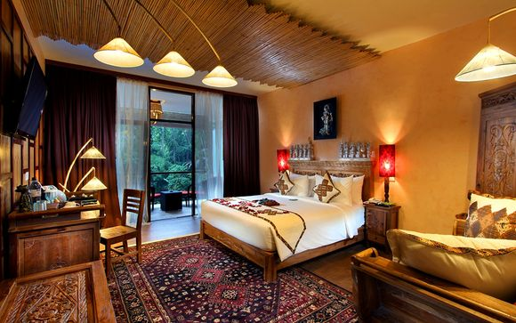 Jungle Retreat Ubud 5*