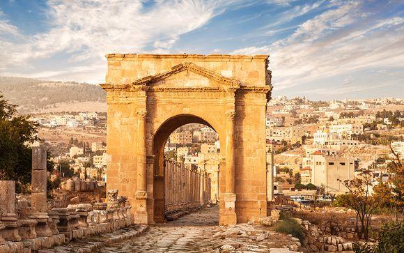 Itinerario de la Oferta 2 con 1 noche en Wadi Rum