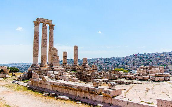 Itinerario de 7 noches en Jordania - Salidas en grupo (llegada y salida el sábado y domingo)
