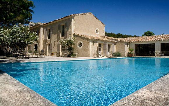 Francia Les Baux de Provence - Hotel Benvengudo 4* desde 94,00 €