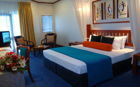 Estancia en la playa: Tangerine Beach Hotel 4*