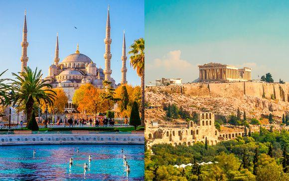 Precioso combinado por dos espectaculares ciudades