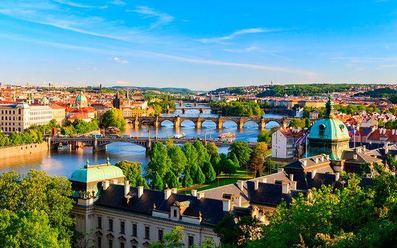Praga, Viena y Budapest en 5*